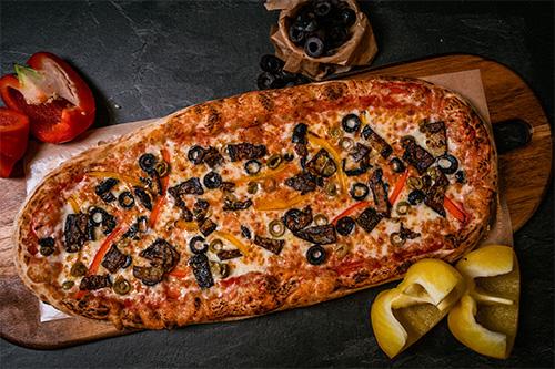 Pizza Grönsaker