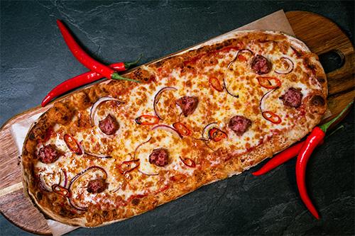Pizza Salsiccia